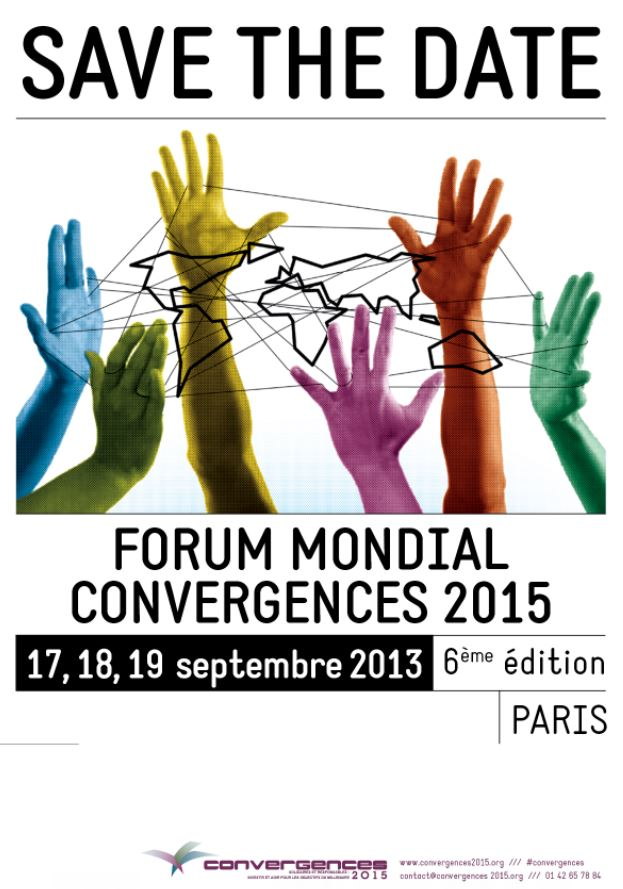 Save the Date - Forum Mondial Convergences 2015(1)